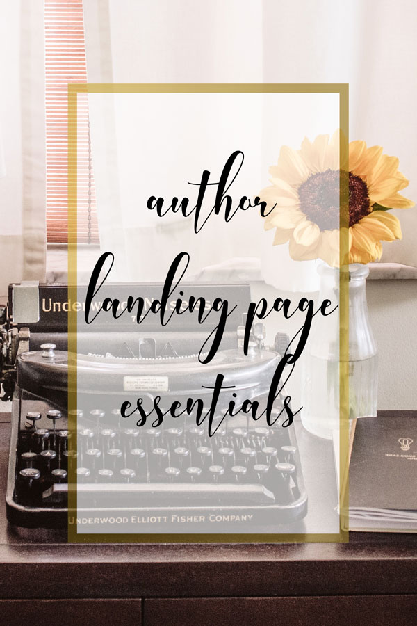 WPD Media Author's Landing Page Essentials